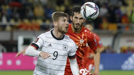 Hủy diệt Bắc Macedonia, Đức giành vé đầu tiên dự World Cup 2022