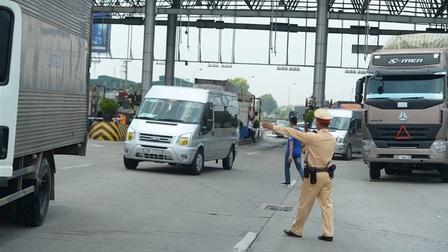 Chưa bỏ 22 chốt kiểm soát xe vào thành phố: Công an Hà Nội nói gì?