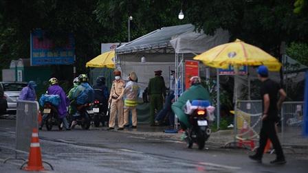 Hà Nội không kiểm tra người và phương tiện đi qua 22 chốt cửa ngõ thành phố
