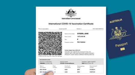 Australia chuẩn bị cấp giấy chứng nhận tiêm vaccine Covid-19 quốc tế