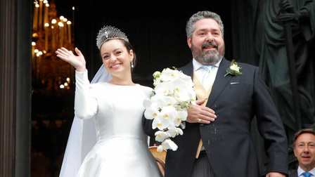 Đám cưới hoàng gia đầu tiên diễn ra tại Nga sau 127 năm
