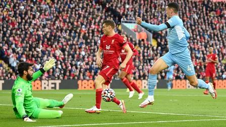 Hai khoảnh khắc thiên tài của Salah không đủ giúp Liverpool đánh bại Man City