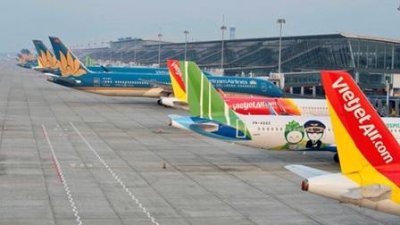 Mởlại 10 đường bay nội địa, không có tuyến nào đi, đến Nội Bài