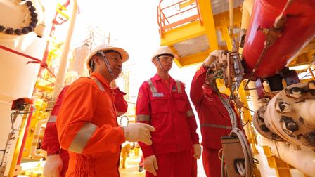 PVEP phấn đấu hoàn thành vượt mức các chỉ tiêu khai thác năm 2021