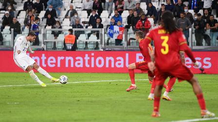 Ngược dòng kinh điển trước Bỉ, Pháp vào chung kết Nations League