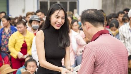 Các tỉnh miền Trung xác minh hoạt động từ thiện của ca sĩ Thủy Tiên