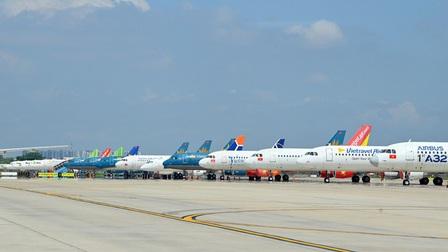 Công bố thông tin các chuyến bay đi/đến Hà Nội và TP.HCM từ ngày 10/10
