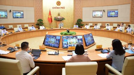 Thủ tướng chủ trì họp trực tuyến toàn quốc về công tác phòng, chống dịch COVID-19