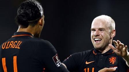 Hà Lan thắng trận thứ 3 liên tiếp dưới thời Van Gaal