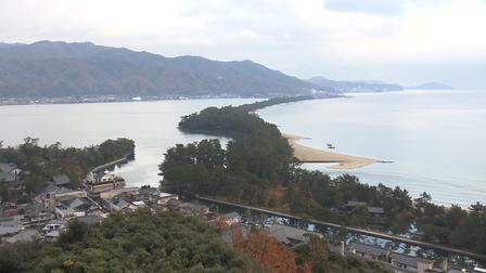 12 Nét Đẹp Vùng Kansai Nhật Bản: Dải cát Amanohashidate