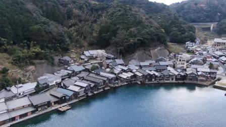 12 Nét Đẹp Vùng Kansai Nhật Bản: Làng chài Ine no Funaya