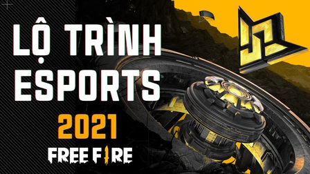 Garena Free Fire bật mí lộ trình giải đấu chuyên nghiệp quốc tế trong năm 2021