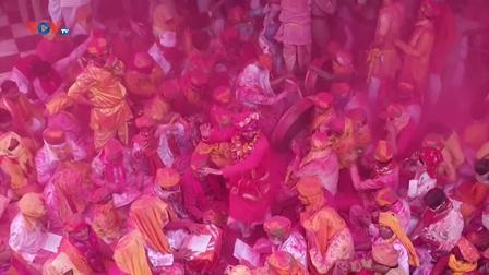 Ấn Độ đón lễ hội sắc màu Holi