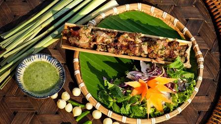 Đặc sản heo lai hấp, nướng ống tre, lọt top 100 món ăn đặc sản Việt Nam