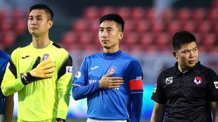 Được 'rót' 4,5 tỷ đồng, cầu thủ CLB Quảng Ninh yên tâm ra sân gặp Hà Nội