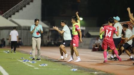 Sài Gòn FC 1-0 HL Hà Tĩnh: Chủ nhà thắng… hú hồn!