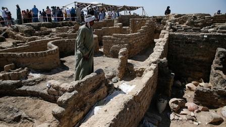 Ai Cập: Những hình ảnh đầu tiên về 'Thành phố Vàng' của các Pharaoh cách đây 3000 năm