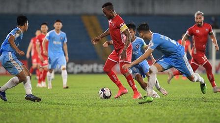 Hải Phòng 0-0 SHB Đà Nẵng: Hải Phòng có 450 phút không ghi bàn