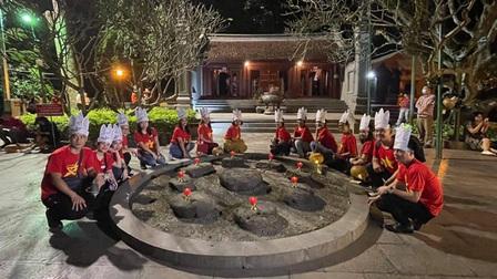 Khai trương tour du lịch đêm Đền Hùng 'Trở về cội nguồn - Linh thiêng đất Tổ'