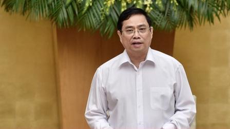 Phiên họp Chính phủ đầu tiên do Thủ tướng Phạm Minh Chính chủ trì