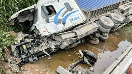 Hai vụ tai nạn liên tiếp trên QL 18 ở Quảng Ninh