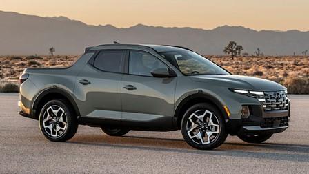 Hyundai trình làng bán tải đầu tay Santa Cruz với nhiều đặc tính giống Tucson