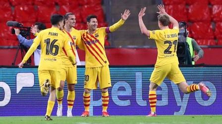 Bilbao 0-4 Barca: Barcelona vô địch Cúp Nhà Vua lần thứ 31