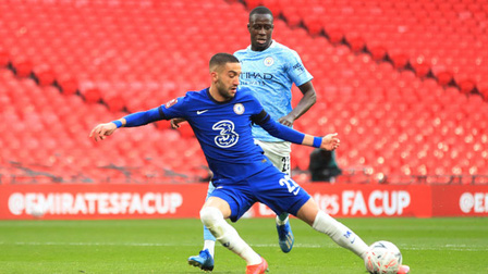 Chelsea 1-0 Man City: Man xanh tan mộng ăn 4