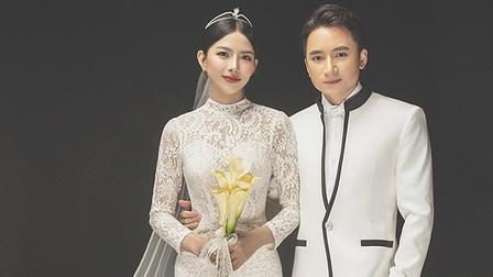 Ảnh cưới lãng mạn của Phan Mạnh Quỳnh và bà xã Huỳnh Khánh Vy