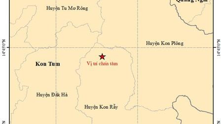 Liên tiếp xảy ra động đất ở Tây Nguyên