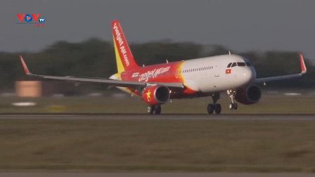 Vietjet khai thác trở lại một số đường bay quốc tế