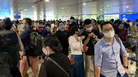 Xây dựng các giải pháp giảm ùn tắc tại sân bay Tân Sơn Nhất