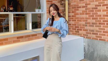 Kiểu chân váy gái Hàn đang mix với mọi mẫu áo mùa Hè