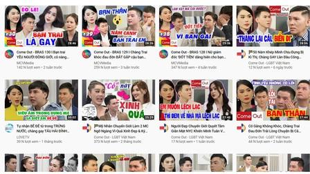 Game show Việt về LGBT+ thoái trào sau 3 năm bùng nổ