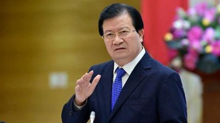 Trình miễn nhiệm Phó Thủ tướng Trịnh Đình Dũng và một số thành viên Chính phủ