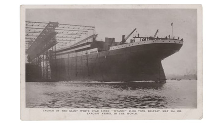 Tấm bưu thiếp của thành viên thủy thủy đoàn tàu Titanic có thể bán đấu giá được 15.000 USD