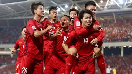 Đội tuyển Việt Nam lên hạng 92 thế giới, cách vị trí lịch sử chỉ còn 8 bậc