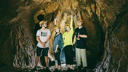 Tuyệt tác thạch nhũ trong hang Chà Lòi