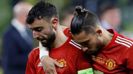Sai lầm của Bruno Fernandes 'giúp' Villarreal tăng 20% cơ hội chiến thắng