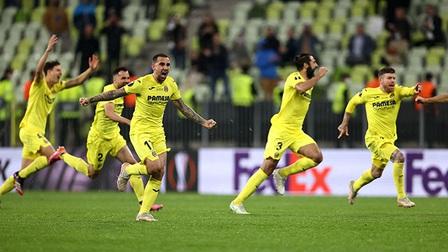 Villarreal đăng quang EuropaLeague sau màn 'đấu súng' nghẹt thở với M.U