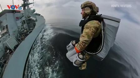 Thủy quân lục chiến Hoàng gia Anh thử nghiệm bộ đồ phản lực