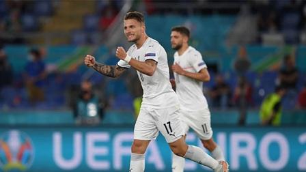 Thổ Nhĩ Kỳ 0-3 Italia: Immobile nổ súng giành 3 điểm cho Thiên thanh