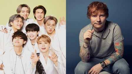 BTS hợp tác với Ed Sheeran trong ca khúc mới