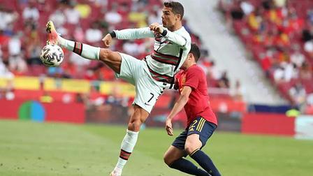 Tây Ban Nha 0-0 Bồ Đào Nha: Ngày buồn của Morata và Ronaldo