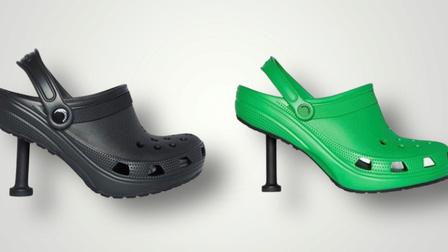 Giày Crocs cao gót mới ra mắt bị chê xấu