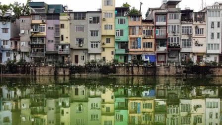 Nhà ống ở Hà Nội lên báo nước ngoài