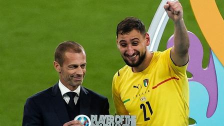 Tỏa sáng giúp Italy vô địch, Donnarumma đi vào lịch sử EURO