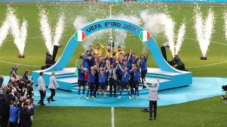 Đánh bại Anh trên chấm sút luân lưu, Italy vô địch EURO 2020