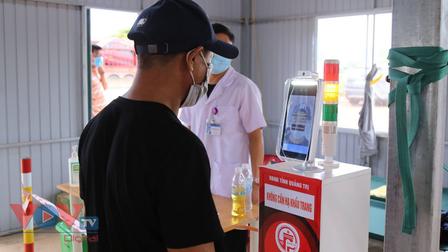 Quảng Trị áp dụng công nghệ thông tin hỗ trợ người dân khai báo y tế