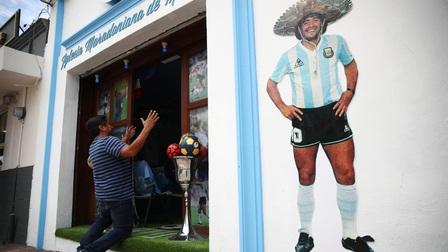 Nhà thờ Maradona đầu tiên tại Mexico mở cửa chào đón người hâm mộ